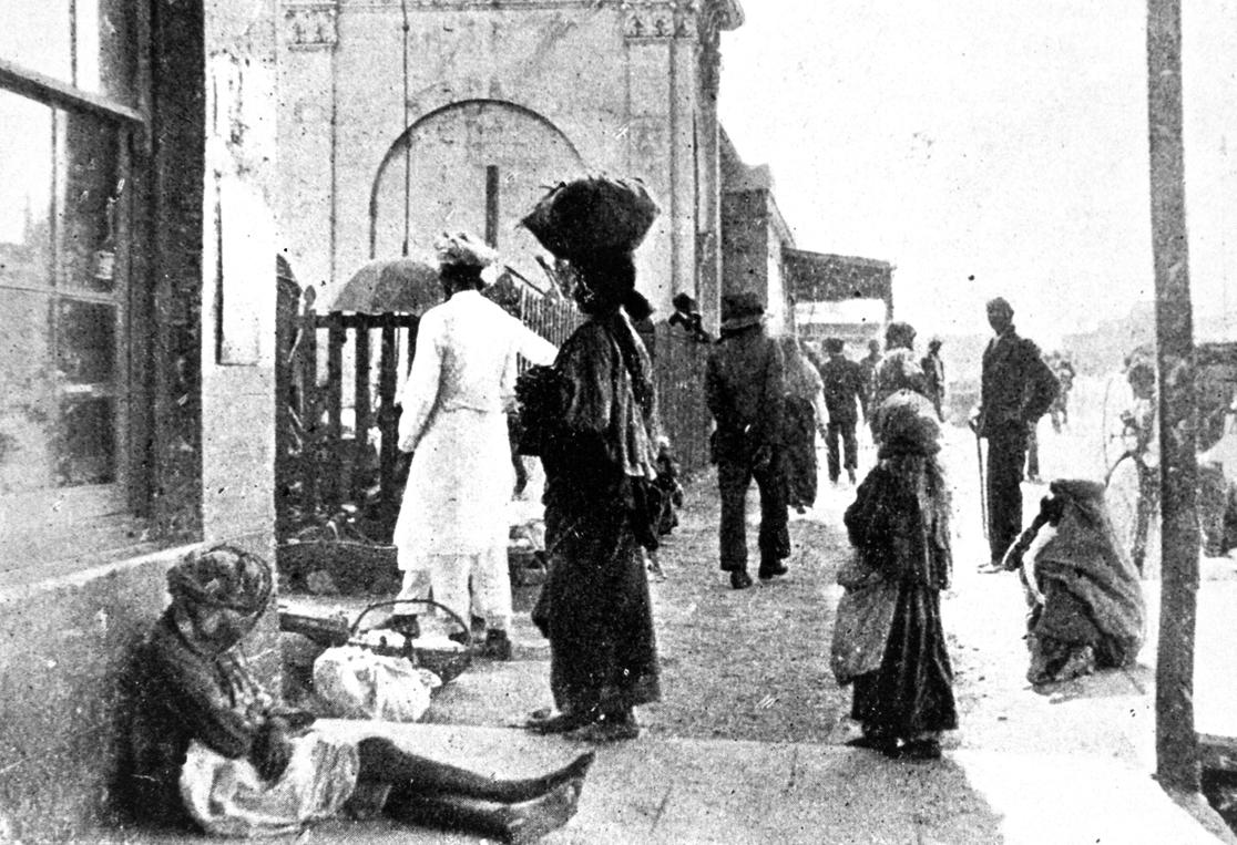 beggar 1906