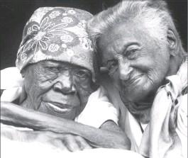 Ma Luthuli and Gadija Christopher