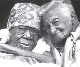 Ma Luthuli and Gadija Christopher
