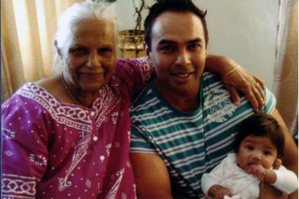 Granny with Logan