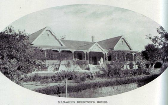 managing directors house