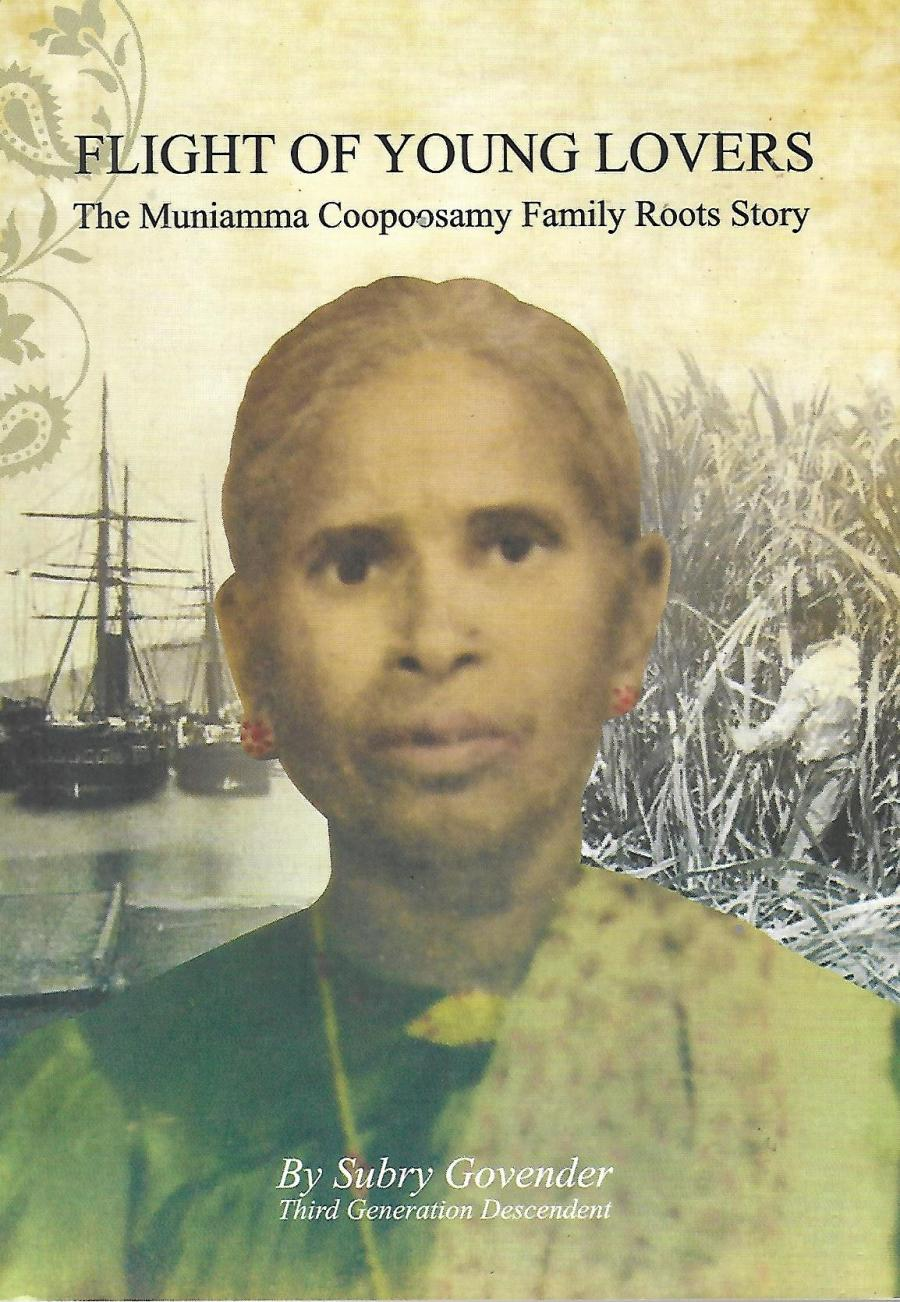 Muniamma - Muniamma on the cover of the familys history book